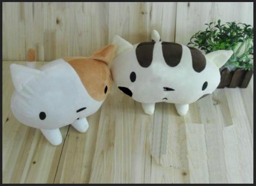 PO Boneka Kucing, Mr. White dan Mr. Brown @ Rp. 150.000,-